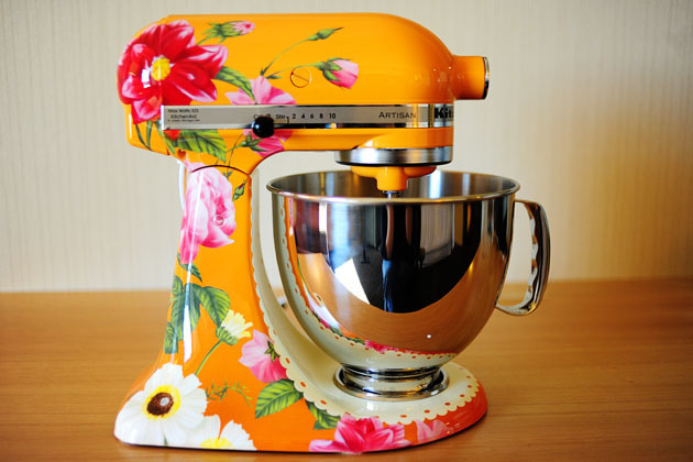 The Grey Cat Diary Kitchenaid Mixer From H E A V E N