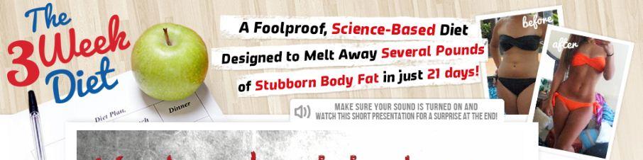 The 3 Week Diet Reviews - Is Brian Flatt Program Scam?