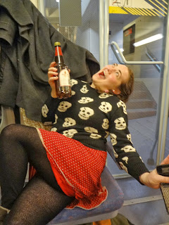 drinking on German trains