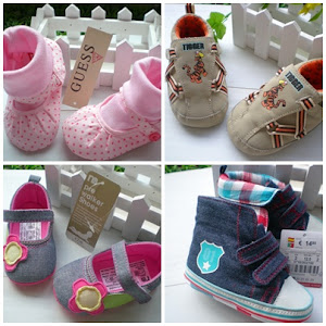 ADD NEW !!! 2011 Baby Pre-walker shoes-MANY DESIGN !! Ready stock :)