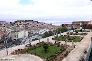 Fotografia do Miradouro Principe Real em Lisboa