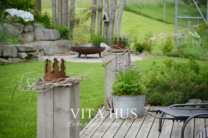 Lieblingspflanzen im mai vitahus for Gartengestaltung landhausstil