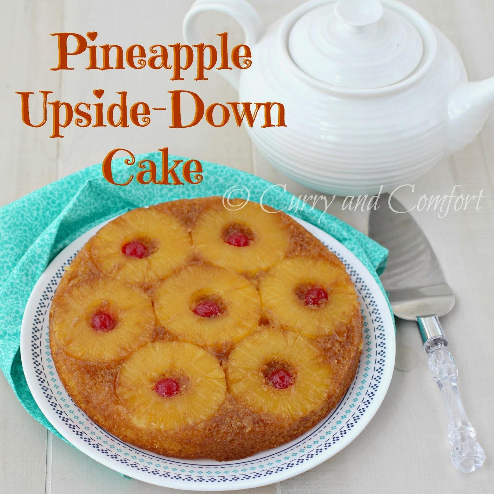 Easy Pineapple Upside Down Cake Using Cake Mix