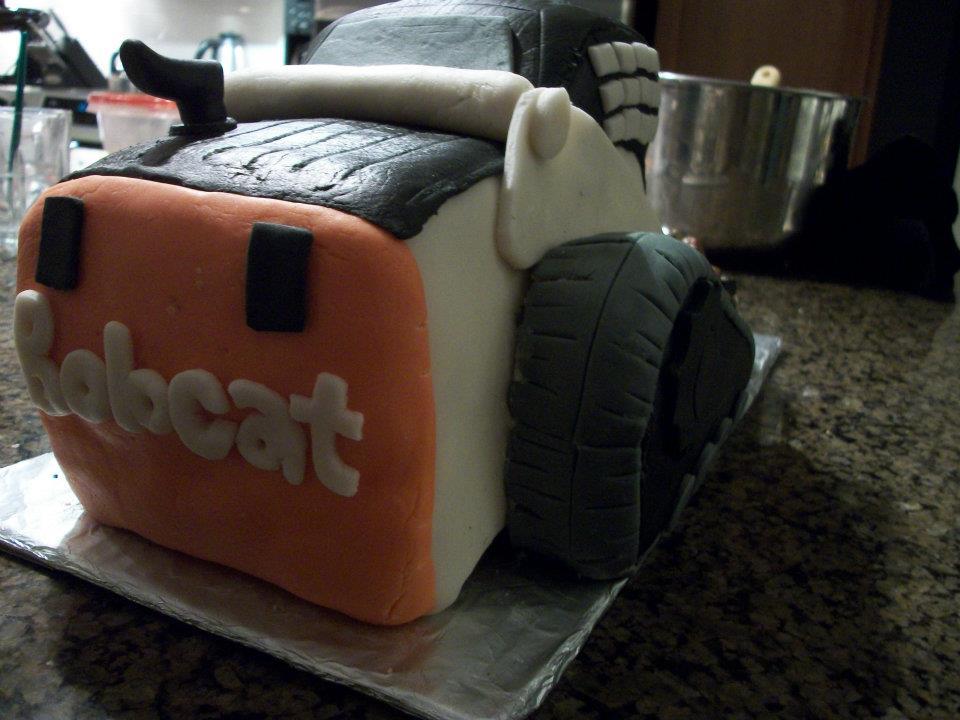 bobcat birthday cake