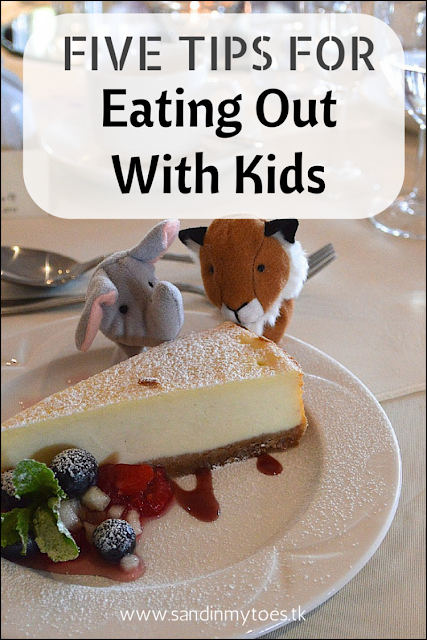 Five tips to make dining out easier with young kids.