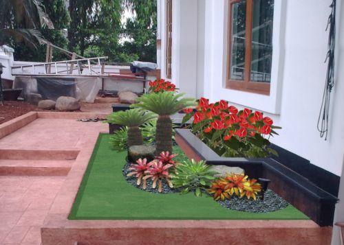 Gambar Taman Rumah Minimalis Sederhana Terbaru - Info Masakan