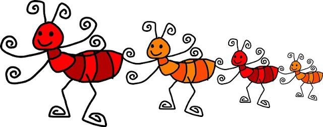 dos hormigas, hacen dos hormigas: un ejemplo de solidaridad