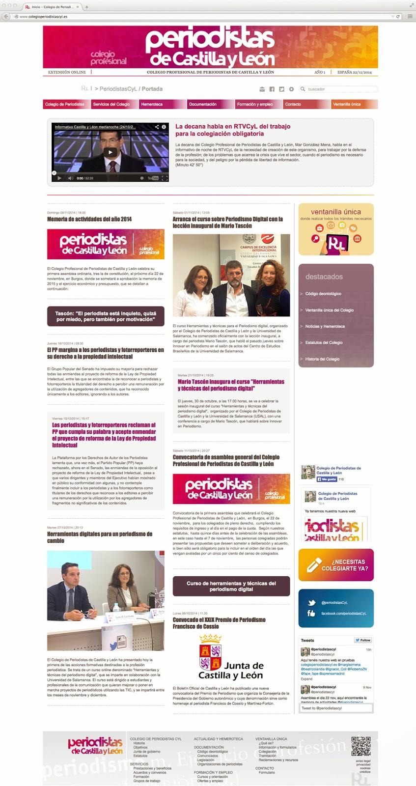 PeriodistasCyL - WEB