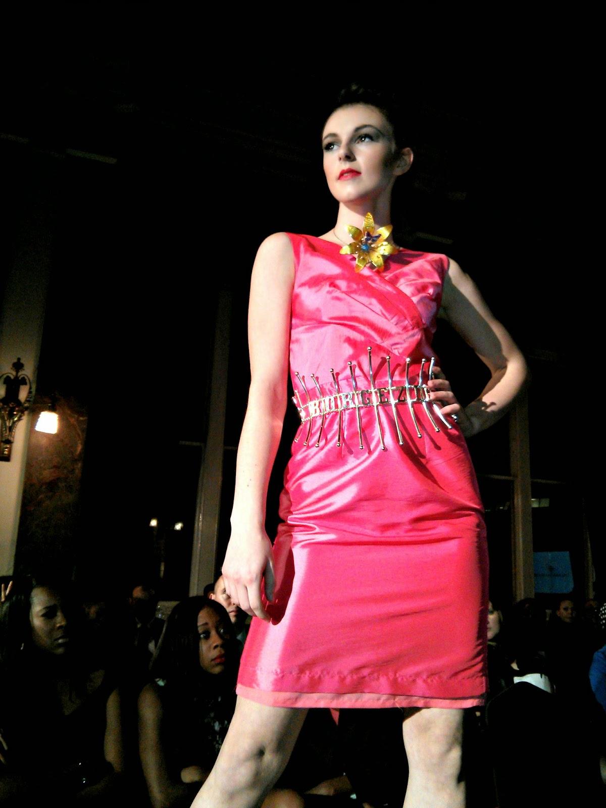 Jewellery designs at Birmingham Fashion Week