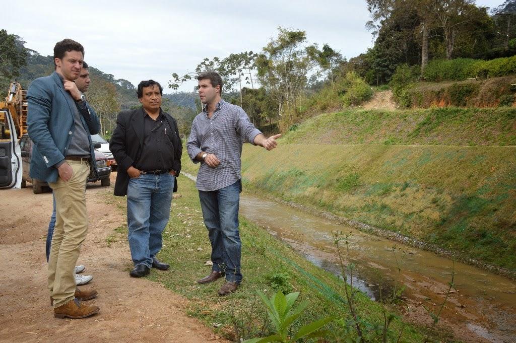 Representantes da GIZ visitaram áreas atingidas pelas chuvas de 2011