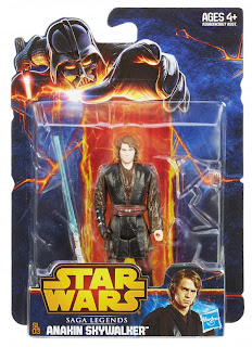 Hasbro Star Wars Saga Legends Anakin Skywalker Figure