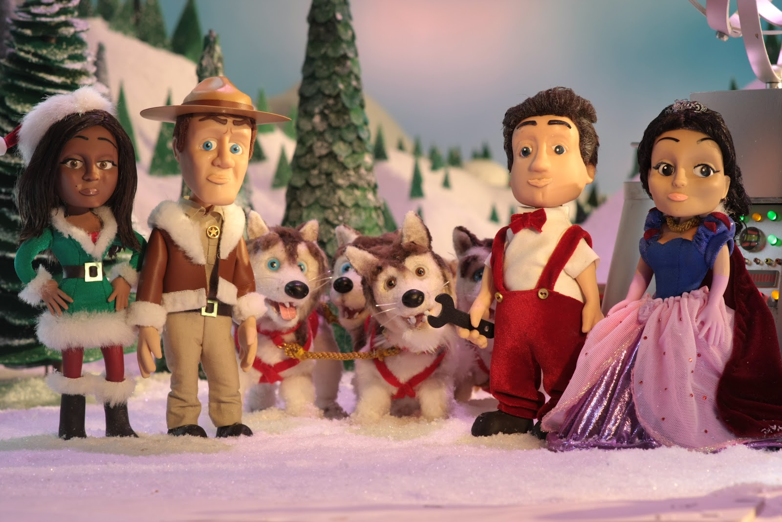 the eureka residents find themselves animated characters - Christmas Tv Shows