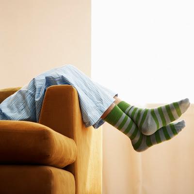 A chuva, um sofá e... uma manta - Crónicas da Brilha