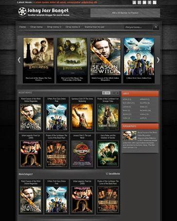 Johny joss banget blogger template download - Blogspot Film