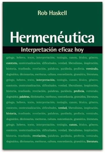 Hermenéutica – Rob Haskell.
