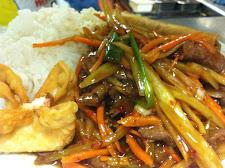 Chan's Inn Szechuan Beef