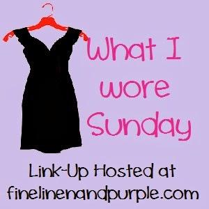 What I Wore Sunday