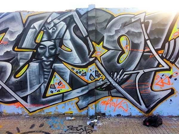 Detalle graffiti Torredembarra