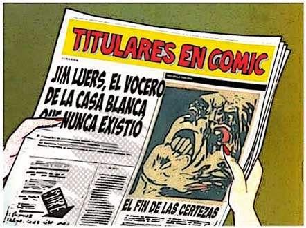 Front page cómic - Jim Luers