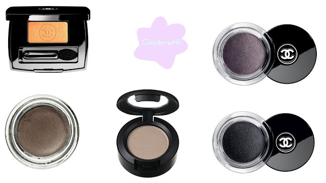 migliori prodotti beauty make up 2012 ombretti chanel mac cosmetics benefit