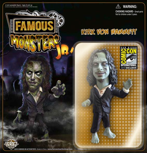 Famous Monsters JR. - Kirk Hammett