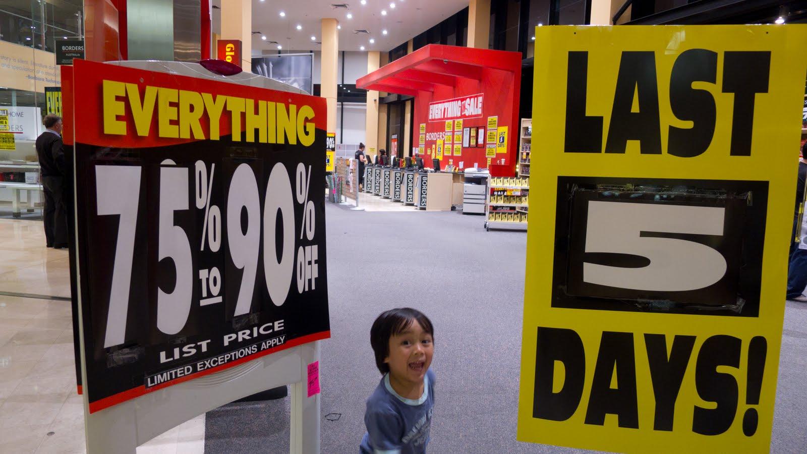Diariesofabeautifullady borders parramatta closing down sale 90 off
