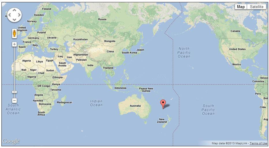 australia mako island map
