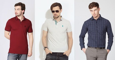 Get Min 30% & Max 49% Off  Regent Polo Club Men's Shirts / Polo T-Shirts at Flipkart (Hurry!! Limited Period Offer)