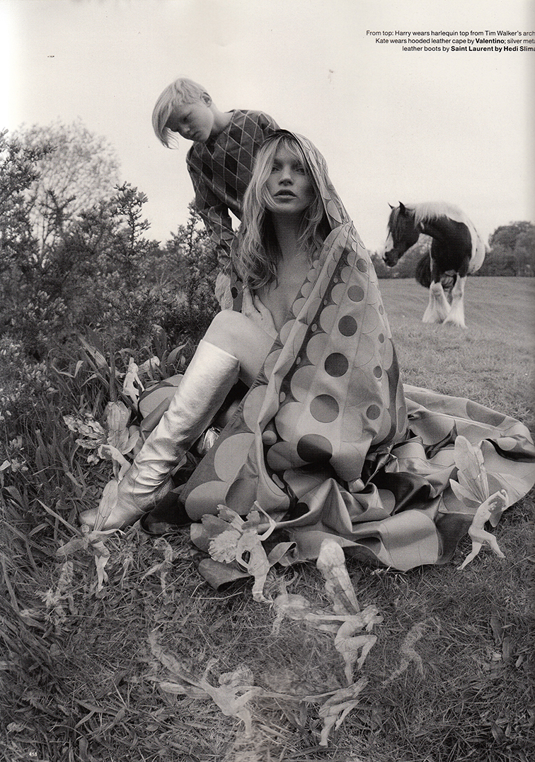 Kate Moss photographed by Tim Walker styled by Katie Grand for Love magazine #12 fall winter 14
