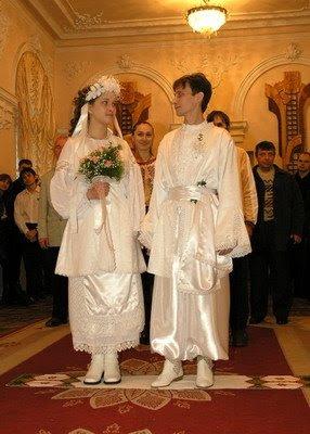 Wedding in Ternopil, Ukraine