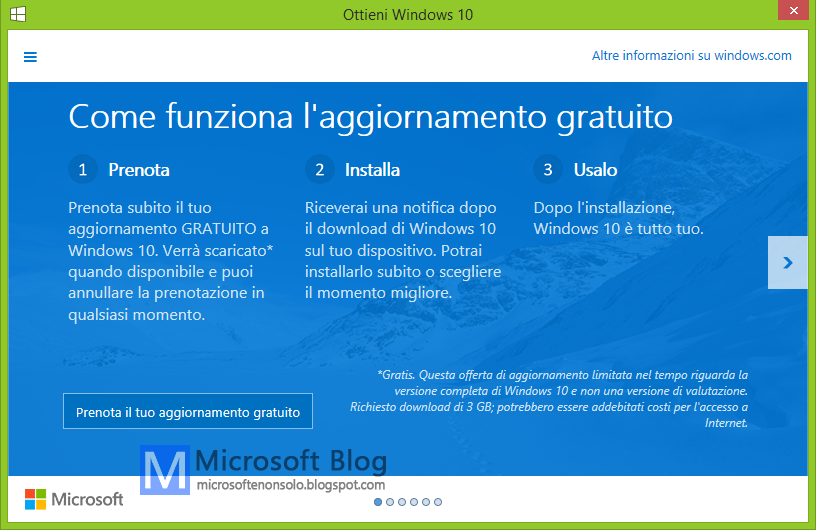 Microsoft windows 10 disponibile dal 29 luglio 2015 for La licenza di windows sta per scadere