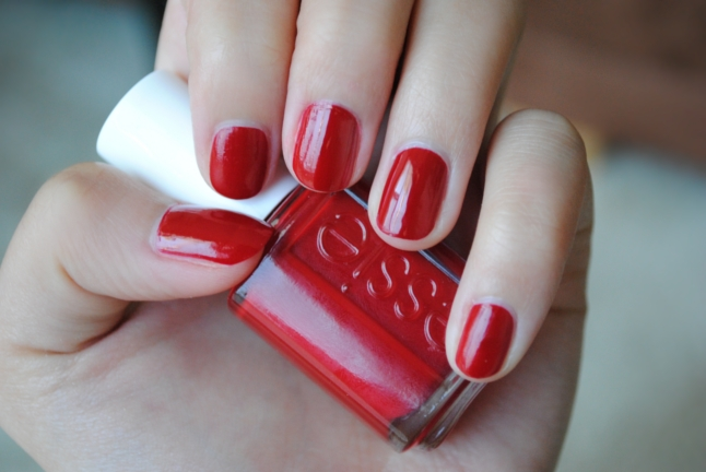 Essie Forever Yummy, Essie, Essie Nail Polish, Red Nails