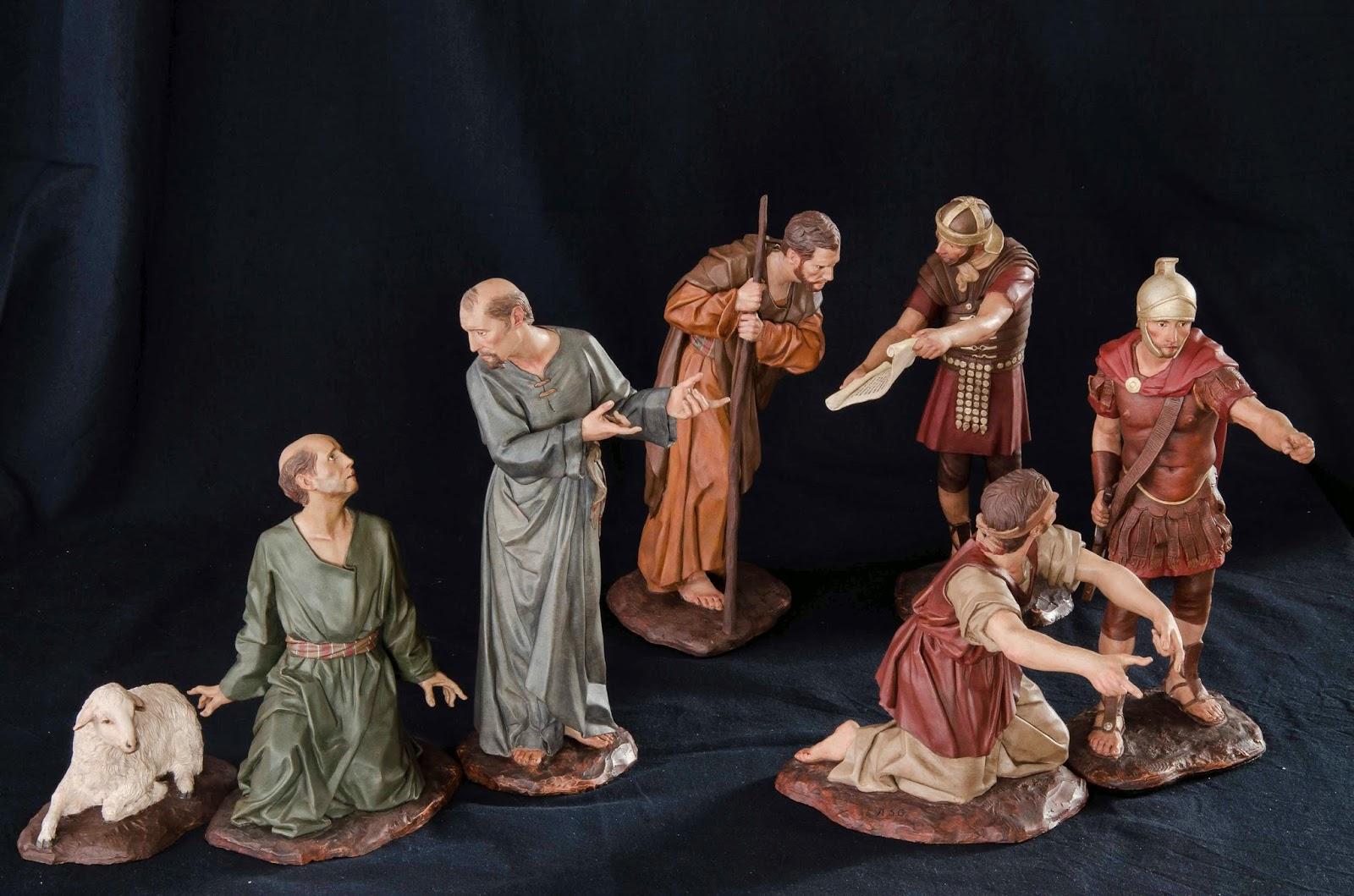 Belén presepe nativity krippe Arturo Serra escultura barro cocido 11