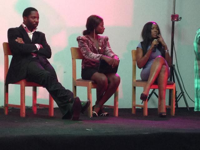 "<img src=""image.gif"" alt=""This is Seun Oloketuyi Olori Supergal and Linda Ikeji"" />"