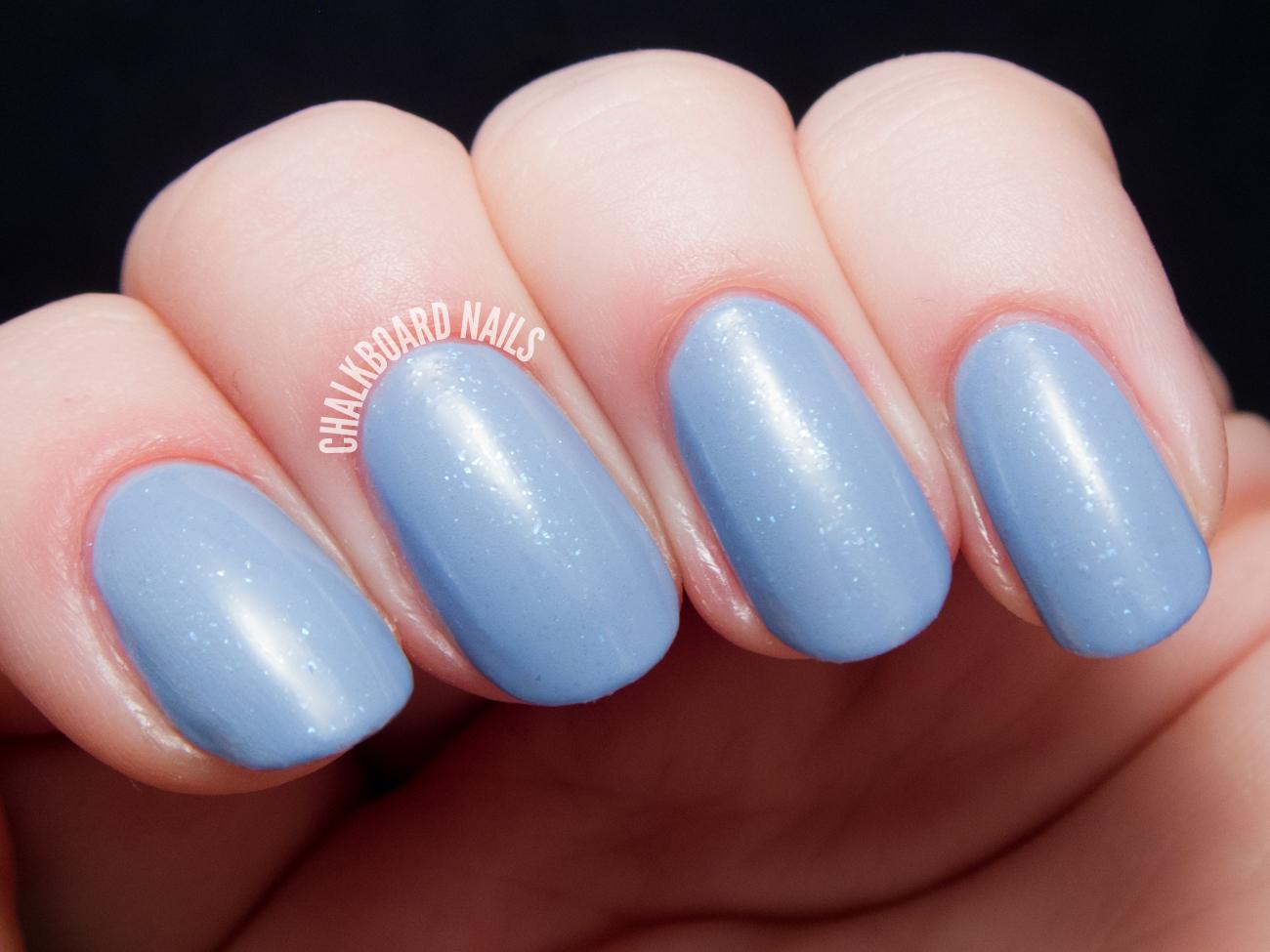Baby Blue Nail Polish On Dark Skin – Papillon Day Spa