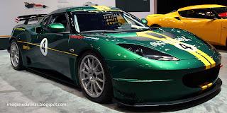 Automovile  de lujo y carro deportivo