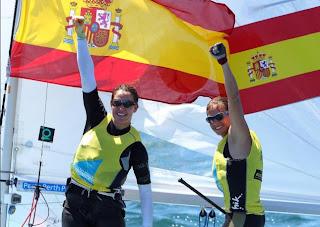 VELA-Pacheco y Betanzos logran colgarse un oro