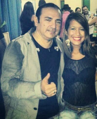 Francis Lopes e Tayná Veloso