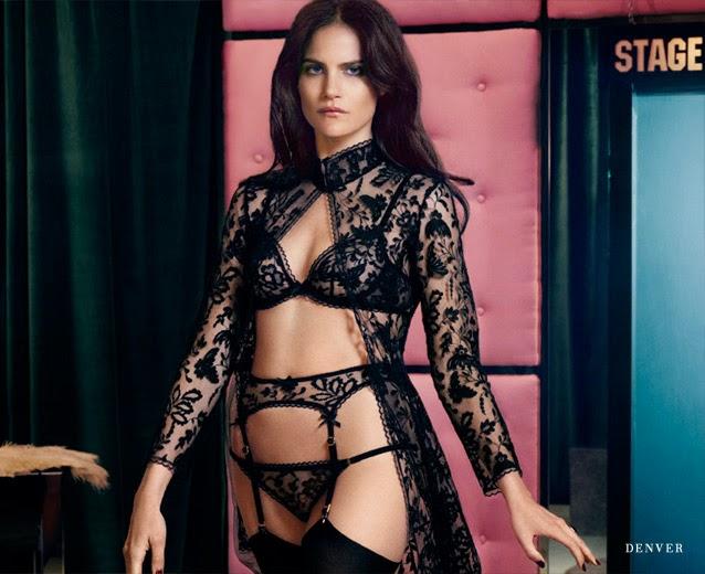 Agent Provocateur, Fall 2014, lencería, Missy Rayder, moda femenina., moda íntima, Sarah Shotton, sexy, underrwear, Be Divinity,