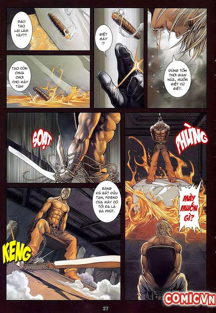 Cửu Long Thành Trại chap 32 - Trang 25