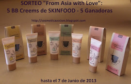 "¡SORTEO – ""From Asia with Love – BB Cream de SKINFOOD"" – 5 Ganadoras!"