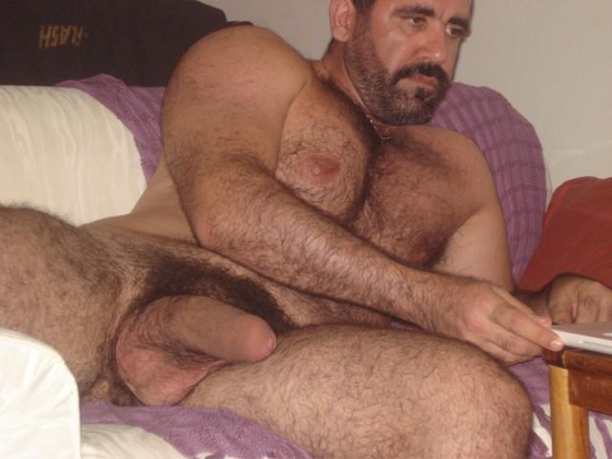 Gay Hairy Men Daddies