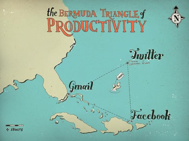 Blue Sky GIS Maps in comics Bermuda Triangle