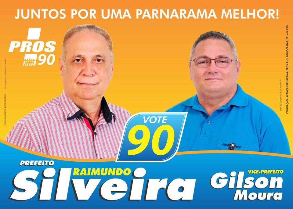 PREFEITO: RAIMUNDO SILVEIRA Nº 90