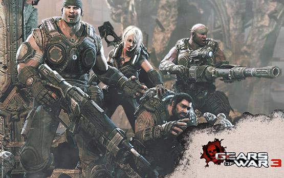 gears of war wallpaper. sequel to Gears of War 2