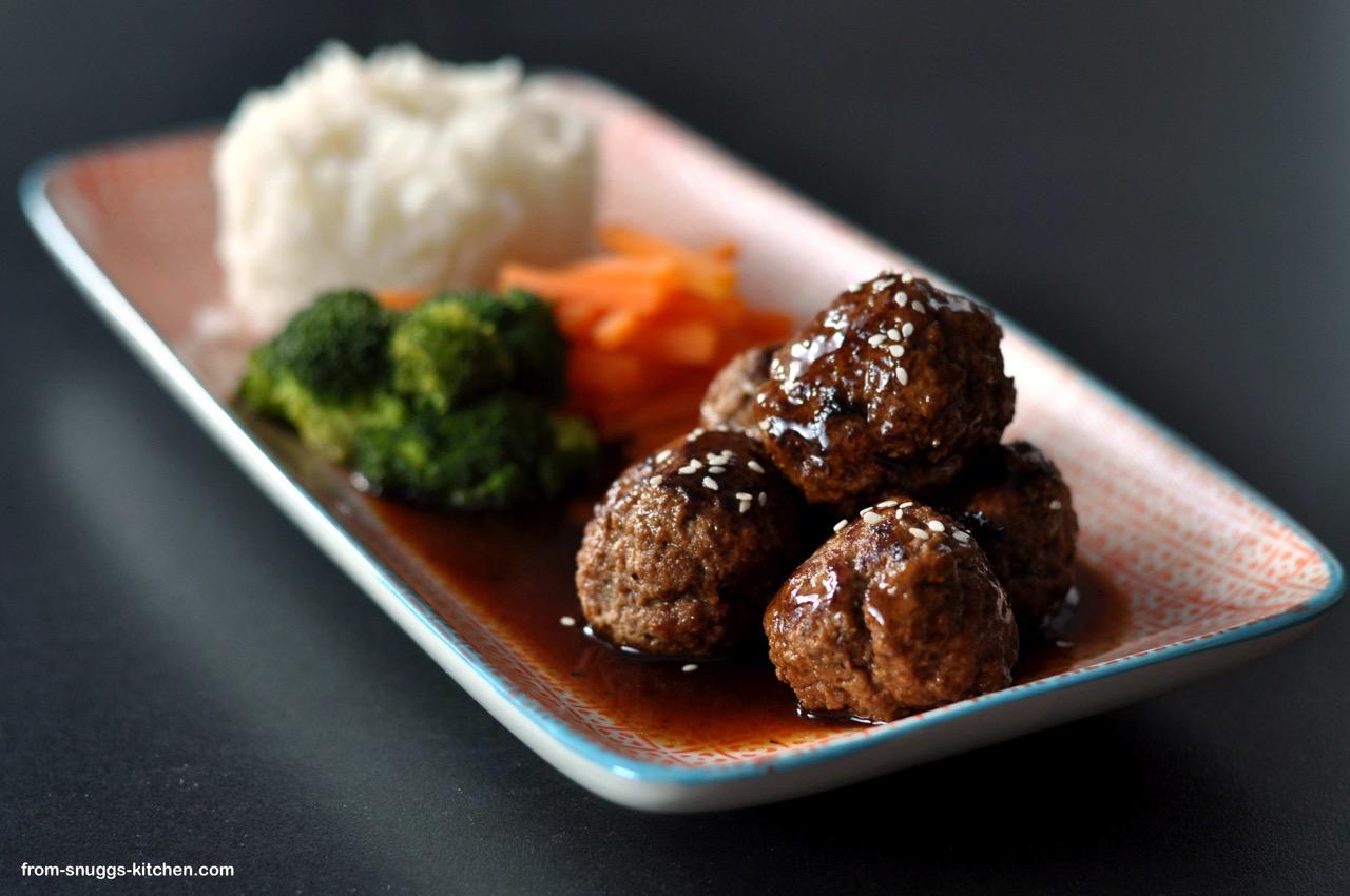Asiatische Fleischbällchen