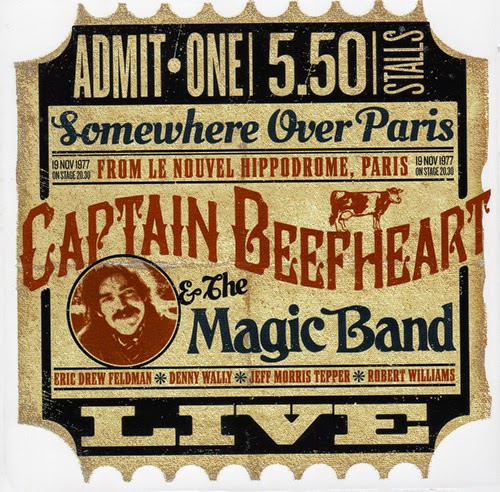 Captain Beefheart's Somewhere Over Paris