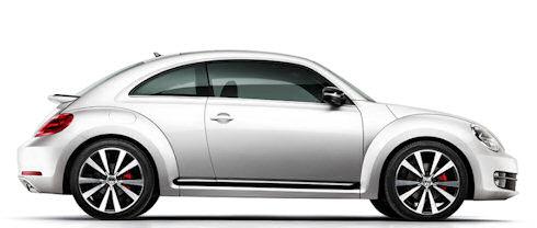 Nya VW Beetle