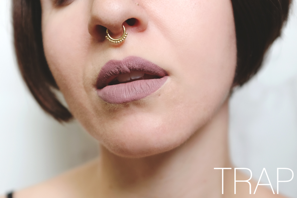 ColourPop Cosmetics Ultra Matte Lip Trap Swatch - Mini Penny Blog