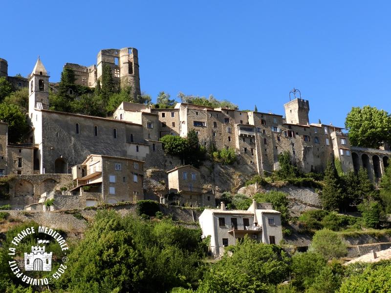 La france medievale montbrun les bains 26 village for H s bains sons